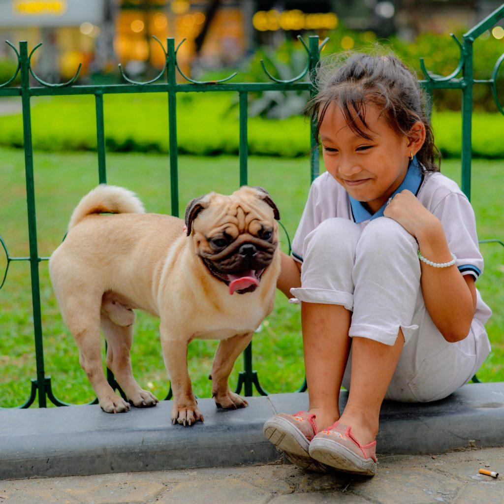 Girl with Pug 1024x1024 1