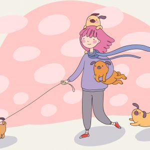 Pug Life Walk