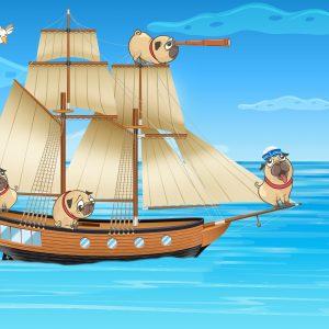Pugs to America