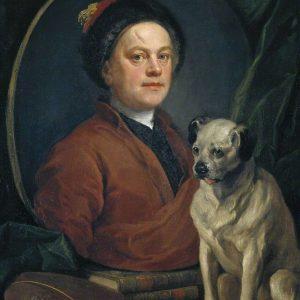 Hogarth, William with Pug